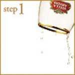 step1:グラスの洗浄