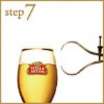step7:正しい泡の量は指2本分!(2 finger)