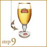 step9:コースターに乗せ提供します!