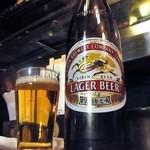 品川亭 - キリンビール大瓶