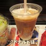 マクドナルド - アイスカフェラテ(M) 226円