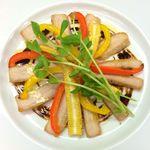 ブラッスリー ラ*フェスタ  - 豚トロと野菜のグリル