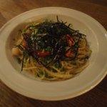 ソラカフェ - 明太子と子柱のスパゲッティー