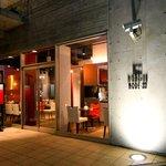 euro dining claret - 店舗外観 赤を基調としたインテリア