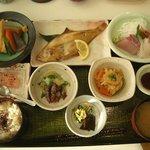 お食事処 濱の四季 - 御食国御膳(1480円)
