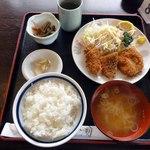 味乃家 魚野川 - 昼定食 ミックスフライ
