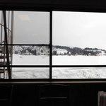 味乃家 魚野川 - まだ雪が沢山