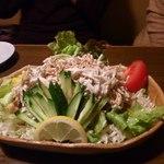 和ノ嘉 - ゴボウサラダはボリュームたっぷり、野菜たっぷりで満腹注意!