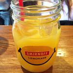 コモードキッチン - ランチセットのオレンジジュース