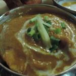 インド・アジアン料理 プルナ - チキンカレー