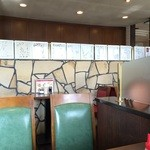 Coffee House Rocky - 禁煙席、2テーブルしか空いていませんでした