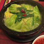 36086935 - 野菜たっぷりもつ鍋