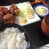 とりの一徳 - 料理写真:若鶏唐揚げ定食 700円