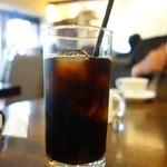 飯田橋 GRATO - セットのアイスコーヒー