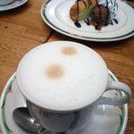 喫茶 グリーン - セット カフェオレ