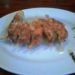 ラ-メン 薫風 - 定食に付いている餃子5個