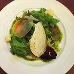 ブラッスリー・レカン - スモークサーモンのサラダ