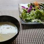 低糖専門キッチン 源喜 - スープ、サラダ