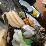 丸万 - お刺身定食2000円