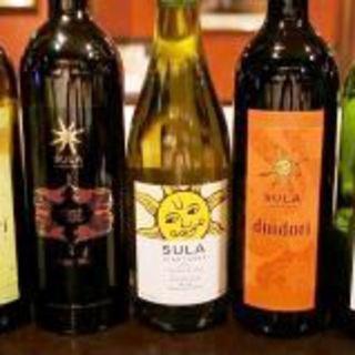 大人気インドワインSULA等インドワインが豊富♪