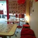 36094679 - 可愛い店内はテーブル席が4つ