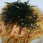 TANGO - 紅鮭ととび子の和風パスタ ¥950