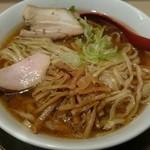 麺や 七彩 - 喜多方ラーメン 醤油味 中盛(¥800)