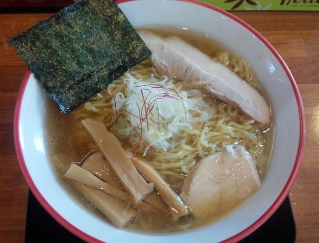 麺や 陽風 - 醤油らーめん620円/27年3月
