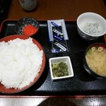 和食処 天きん - 明太子定食¥500
