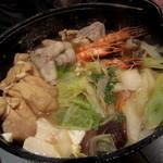 お箸Bar 火蔵 - 鍋、アフター♪(〆の麺付き)