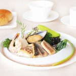 レストラン ラグラース - 2015春のおすすめ 海の幸の素焼き