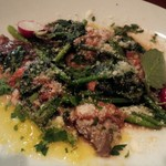 PIZZAジャルディーノ SAVOY - 牛ハラミとほうれん草のソテー
