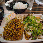 びざん - 和風牛ロース定食(760円)