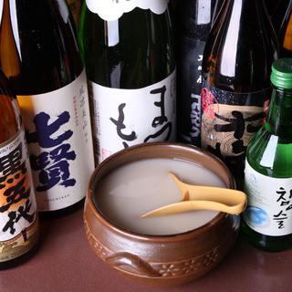 店長厳選!全国各地の日本酒