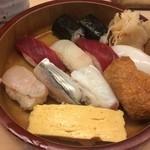蛇の目鮨本店 - 握り大盛り1300円