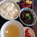 焼肉トラジ - 焼肉タンシチュー1700円