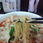 一番亭 - 2014.5.24 肉ピリらーめん+餃子 853+312円