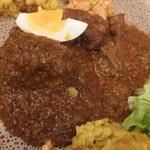 クイーンシーバ エチオピアレストラン - ドロワット