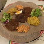 クイーンシーバ エチオピアレストラン - エチオピアン・シチュー