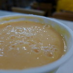 高雄牛乳大王 - フレッシュミルクにパパイアがたっぷり。