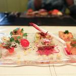 ユーロダイア - 前菜の盛り合わせ6種☆