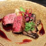 ユーロダイア - 宮城県産A5等級 仙台牛のランプステーキ 赤ワインソース☆