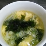 花菜 - 鶏ガラから丁寧に出汁をとったスープ 絶品です。!!