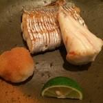 36105640 - 太刀魚とクサフグの焼き