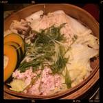 魚の間 - 蒸篭鍋