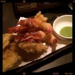 魚の間 - 天ぷら盛り合わせ