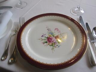 佛蘭西料理 名古屋 - 長後のころからのサービス皿