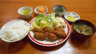 こはま - カキフライ定食