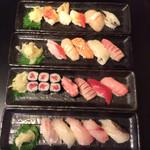 江戸前寿司 ちかなり - にぎり4種