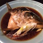 江戸前寿司 ちかなり - ふっくら大きなかぶと煮☆420円+税
